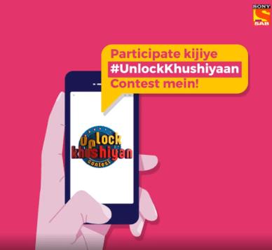 SAB TV Unlock Khushiyan Contest