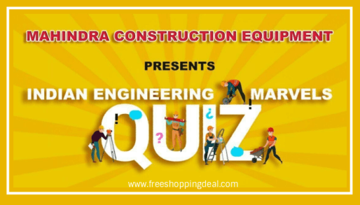 Indian Engineering Marvel Quiz Answers