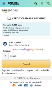 Amazon Credit Card Bill Pay Offer 07