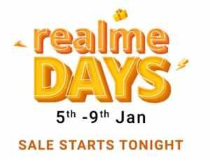 Flipkart Realme Days Sale