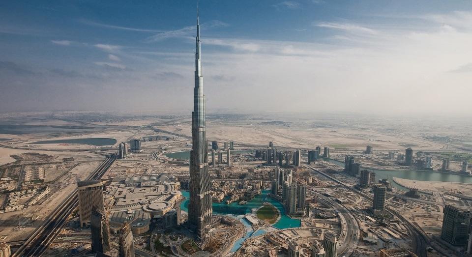 Globalizada culinária diversificada Dubai