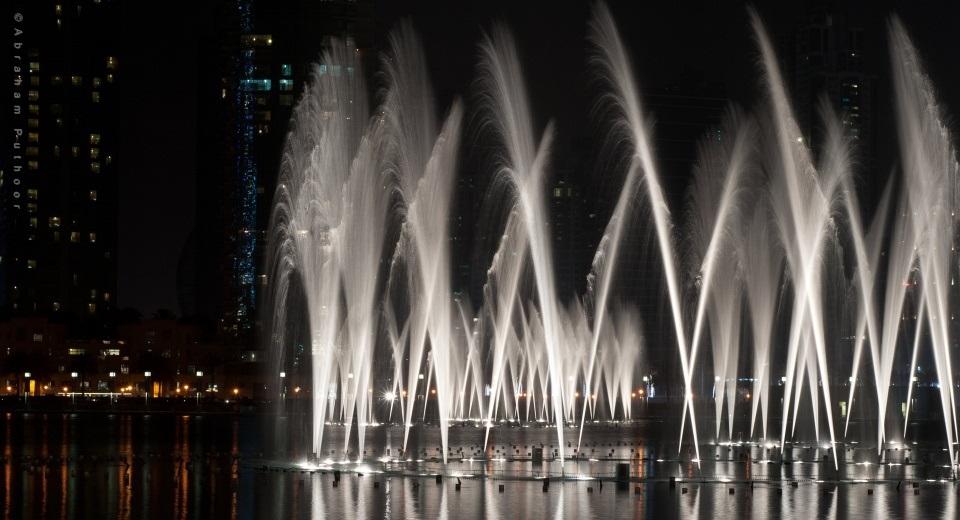 Fontes de Dubai Águas Dançantes