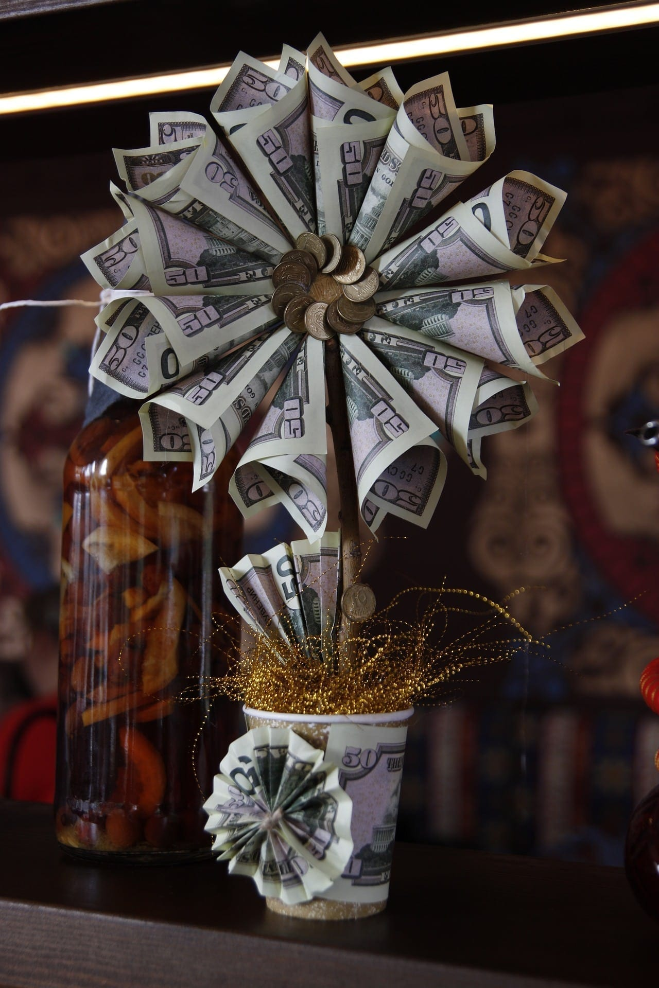 dinheiro artesanato