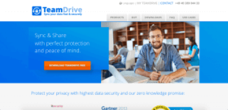 teamdrive free sites like dropbox