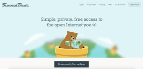 Free Sites Like TotalVPN tunnelbear