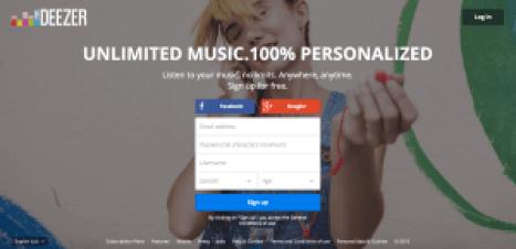 Deezer Free Sites Like Songza