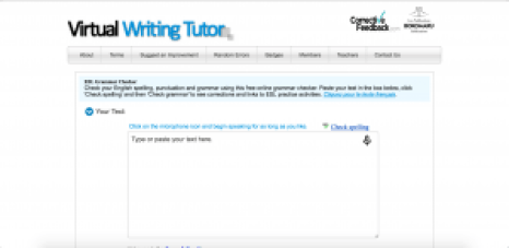 virtual writing tutor sites like grammarly