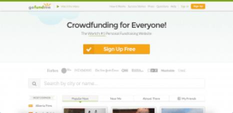 gofundme sites like kickstarter
