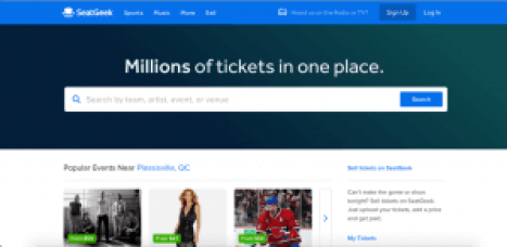 sites like seatgeek
