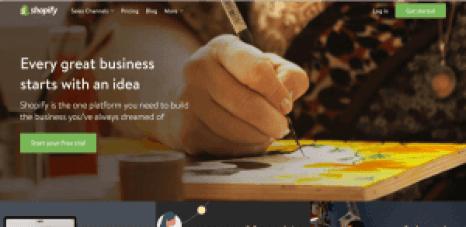 free sites like shopify