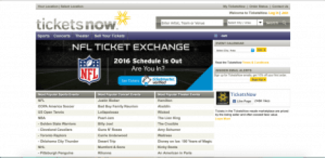 ticketsnow sites like stubhub