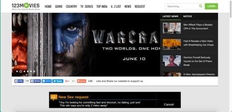 123movies sites like movie4k
