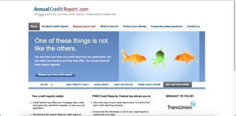 annual credit report sites like credit karma