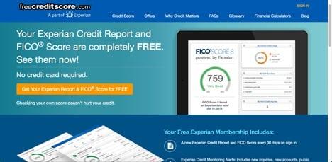 free credit score sites like credit karma