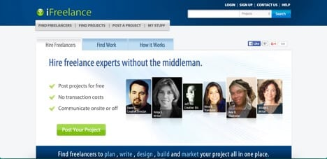 ifreelance sites like freelancer
