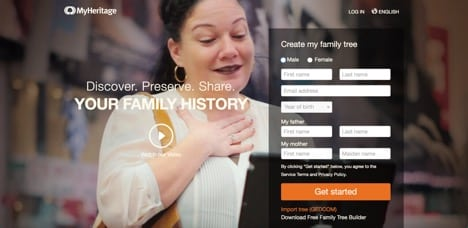 myheritage sites like ancestry