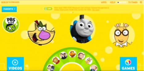 pbs kids sites like abc mouse