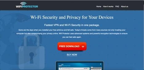 wifi protector sites like Total VPN