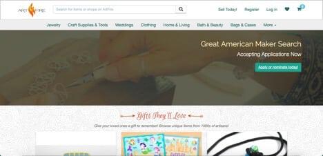 Sites like Artfire