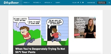 Sites like collegehumor