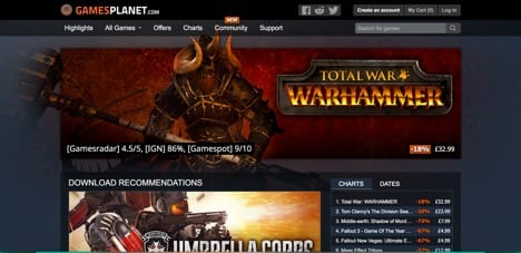 Sites like gamesplanet