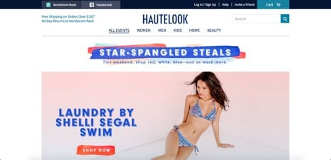 HauteLook sites like Zulily