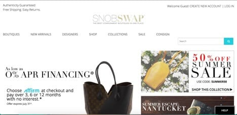Sites like Snobswap