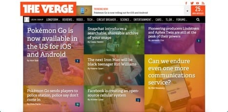 sites like theverge