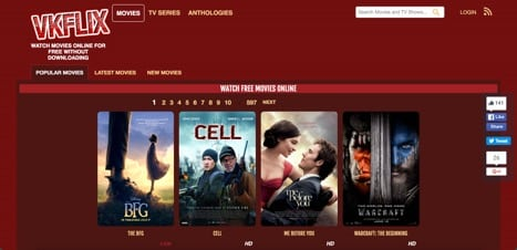 Sites like VKflix