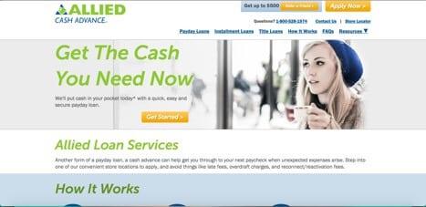 allied cash advance