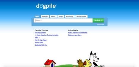 sites like dogpile