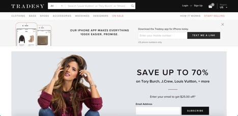 Sites like Tradesy