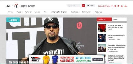Sites like Allhiphop