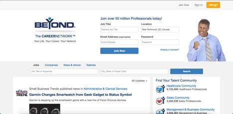 Sites like LinkedIn Beyond