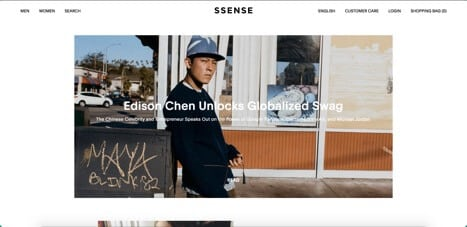 Sites like Ssense