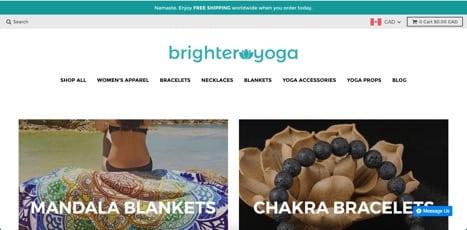 sites like brighter yoga