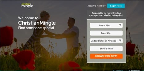 sites like christian mingle