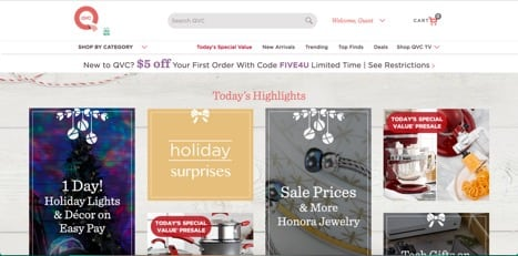 sites like qvc