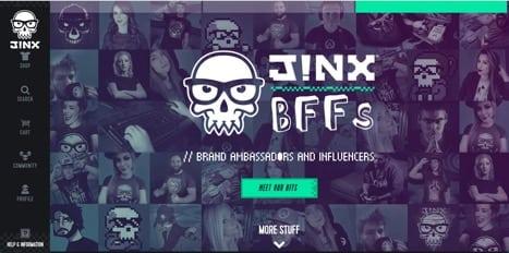 jinx clothing