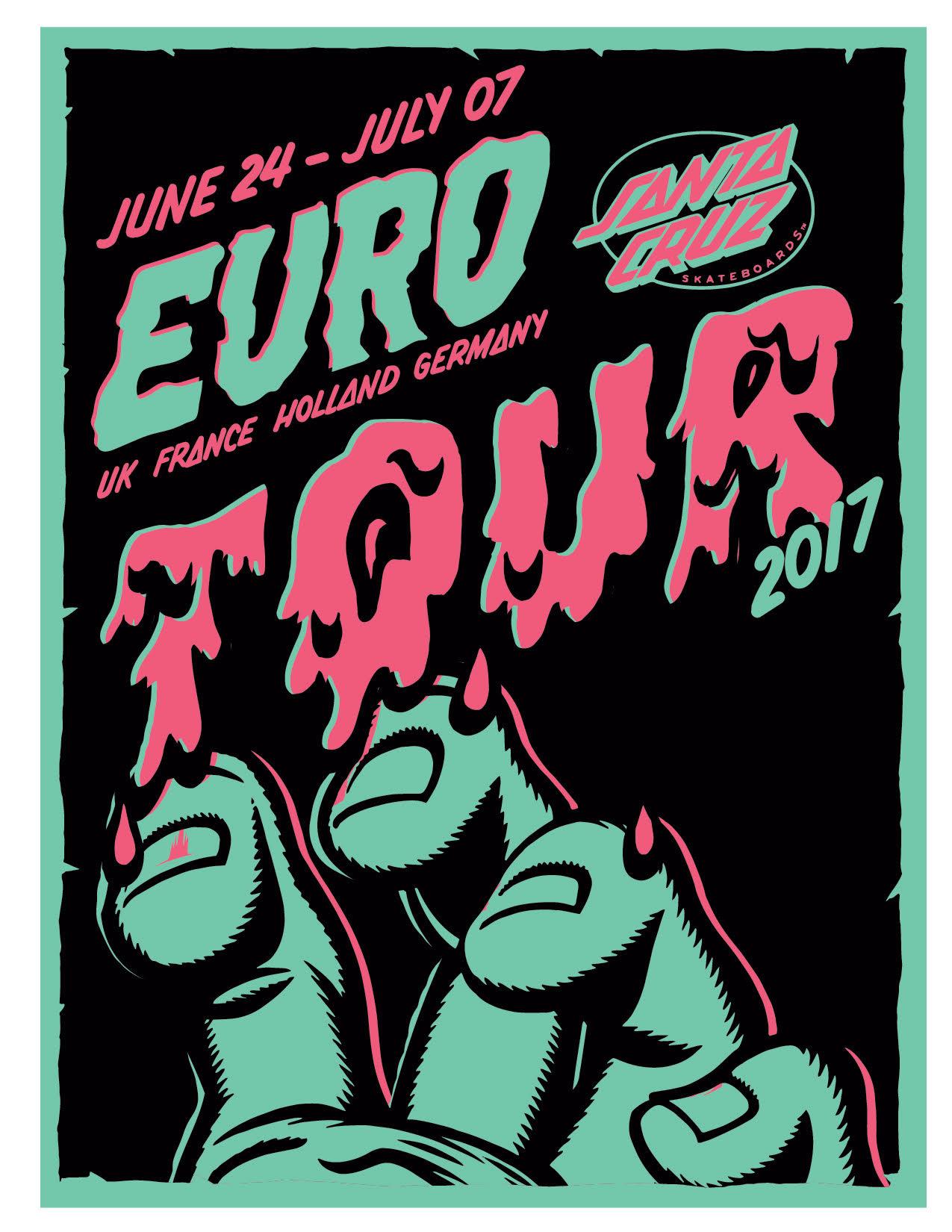 Euro Tours Summer 2017