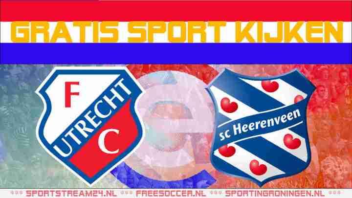 Live FC Utrecht vs SC Heerenveen