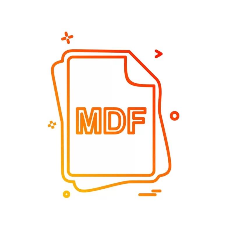 как открыть файл с расширением mdf
