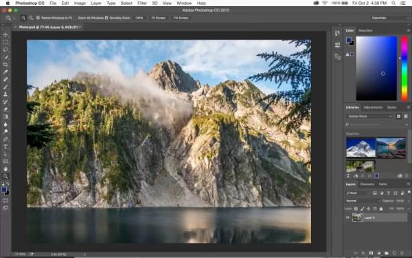 Как вставить картинку в Adobe Photoshop
