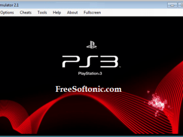 PCSX3 Playstation 3 Emulator
