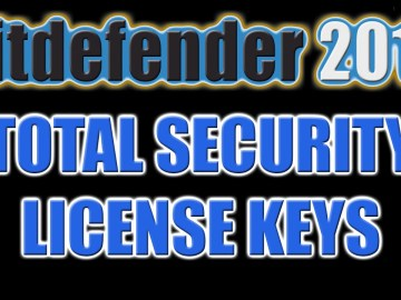 Bitdefender Total Security 2016 Key Till 2050 Full
