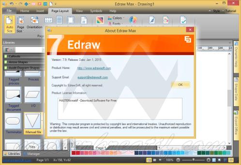 Edraw Max 8.4 Serial Key