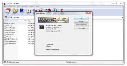 WinRAR Serial Key
