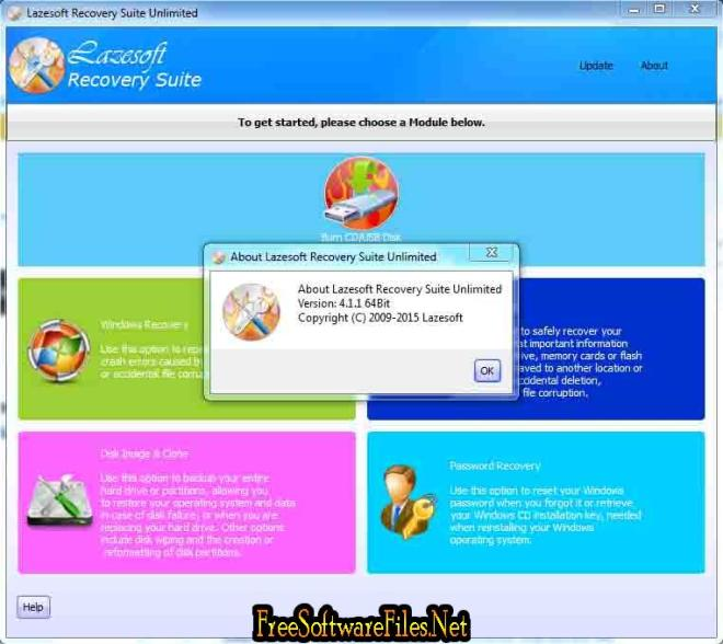 Lazesoft Recovery Suite Home Free