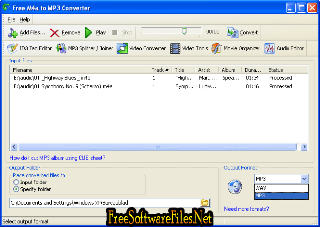 M4A To MP3 Converter Latest Version Free Download