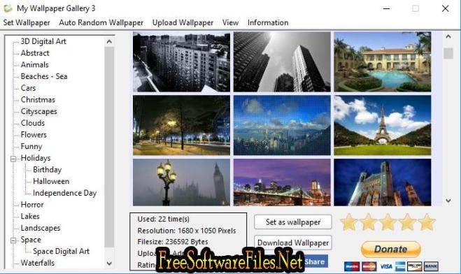 My Wallpaper Gallery for windows